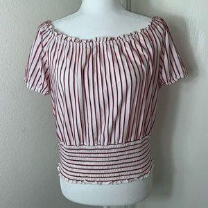 Twine & String off the shoulder blouse - L